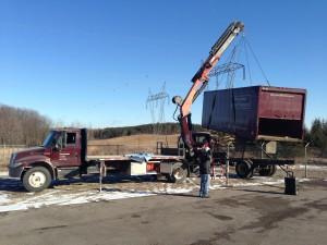 Crane Truck Box